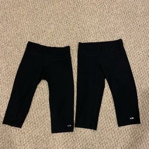 Champion Pants & Jumpsuits - Two pairs of Champion cropped workout pants